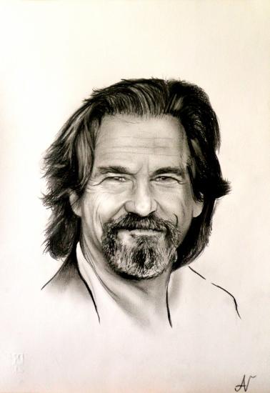 Jeff Bridges by albertino